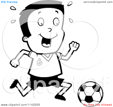 Children Playing Clipart Black And White