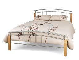 tetras silver three quarter 3 4 bed frame