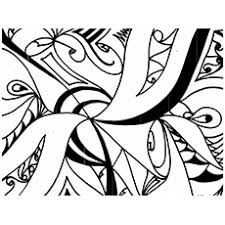 Abstract Pattern Coloring Page