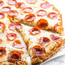Easy Low Carb Cauliflower Pizza Crust Recipe