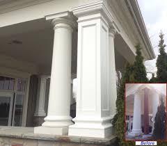 PVC Column Wraps Column Covers Post Covers I Elite Trimworks