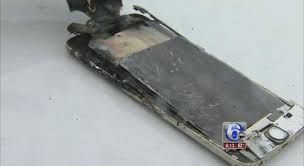Catches Fire Due To iPhone Exploding