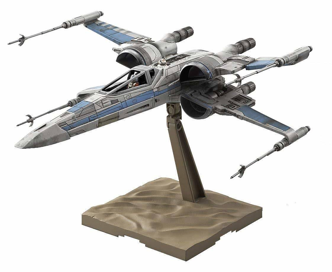 Bandai 1:72 Scale Star Wars Resistance X-Wing Fighter Plastic Model Kit