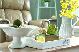 Coffee Table Arrangements Spring Decor Centerpiece Ideas For Home