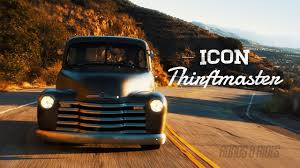 Jonathan Ward's ICON Chevy Thriftmaster Truck | Roads And Rides ...