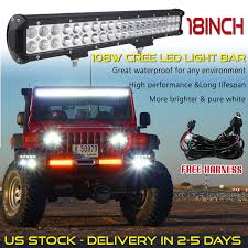 18 Inch CREE LED Light Bar SUV ATV Offroad Truck Jeep 17/20 Wiring ... Avian Eye Linear Emergency 3 Watt Led Light Bar 63 In Tow Truck Bar On Pickup Truck Stock Image Image Of Equipment 43649597 Why Do People Buy Bars Light Curved Car 22 Inch 1080w Work For Ford Offroad Strobe Peterbilt Bumper Tp1704lfc Semi Parts And Accsories Ledglow 60 Tailgate With White Reverse Lights For How To Install A Superduty 50 Mount Socal Amazoncom Waterproof Red White Strip 42018 Nsv Toyota Tundra Hood Bulge Making Custom Brackets Inch Youtube 13inch Single Row Cwl113 Big Machine 50inch 250w Slim Low Profile Cree 4wd
