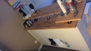 plan cuisine leroy merlin table bar cuisine leroy merlin 4 table de bar avec kallax