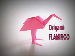 Easy Paper Handicrafts Making Step By Unique Origami How To Make A Flamingo