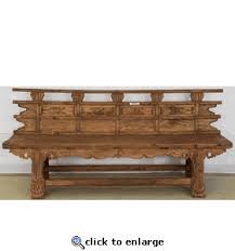 Antique Oriental Furniture Rustic Bench From China