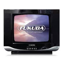 "view details Fukuda 14"" Semi Flat Colored CRT TV FT 14ASNC1 1BC Black"