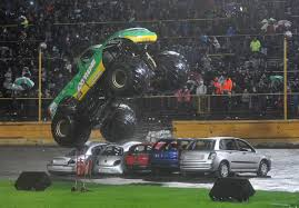 Rain Fails To Halt Odsal Stadium Stunt Show Daredevils | Bradford ... Monster Jam Truck Fails And Stunts Youtube Home Build Solid Axles Monster Truck Using 18 Transmission Page Best Of Grave Digger Jumps Crashes Accident Jtelly Adventures The Series A Chevy Tried An Epic Jump And Failed Miserably Powernation Search Has Off Road Brother Hilarious May 2017 Video Dailymotion 20 Redneck Trucks Bemethis Leaps Into The Coast Coliseum On Saturday Sunday My Wr01 Carbon Bigfoot Formerly Wild Dagger