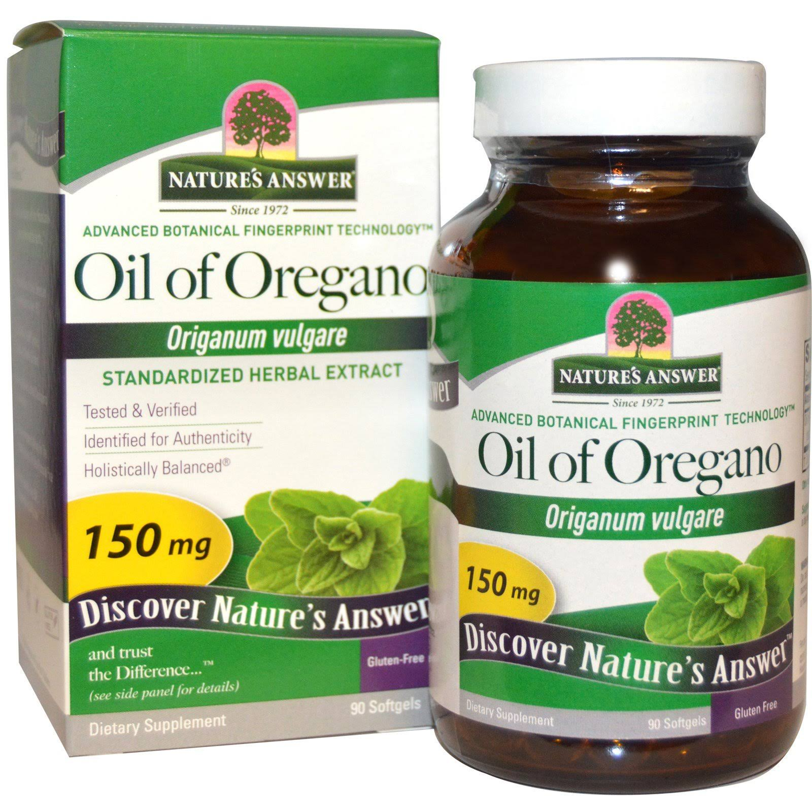 Nature's Answer Oil of Oregano Softgels