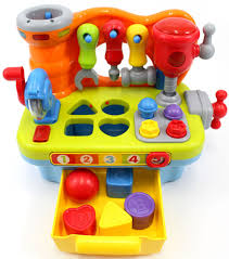 100 Vtech Hammer Fun Learning Truck CifToys Musical Workbench Toy For Kids Construction Work