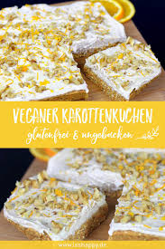 veganer karottenkuchen glutenfrei und ungebacken