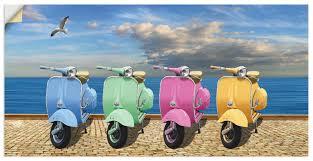 vespa roller in bunten farben viele produktarten größen