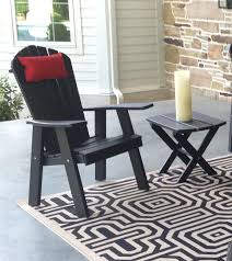 comfortable and cute folding reclining fanback adirondack chair