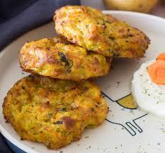 gemüse kartoffel taler mit käse schnell einfach