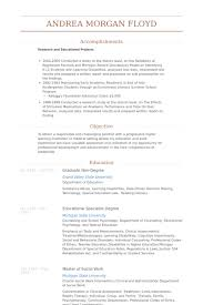 School Psychologist Resume Example