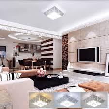 hawee 12w modern deckenleuchte led deckenle farbtemperatur schaltbare quadratisch eisen hohle geschnitzte für schlafzimmer flur wohnzimmer