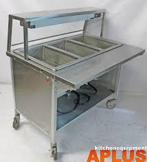 Hatco Heat Lamps Grah 48 by Atlas Metal Drop In 3 Well Steam Table W Sneeze Guard Base