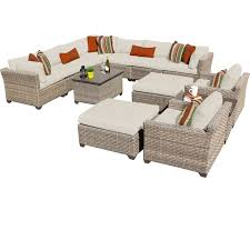 Outdoor Sectional Sofa Walmart by Outdoor Conversation Sets Walmart Com