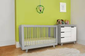 Babyletto Modo 3 Drawer Dresser White by Bedroom Charming Nursery Decoration With Grey Crib With White