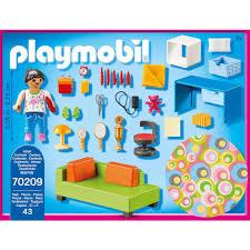 playmobil konstruktions spielset jugendzimmer 70209 dollhouse 43 st made in germany