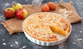 cremiger apfel marzipan kuchen