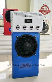 China 24V Truck Cab Sleeper Parking Air Conditioner Photos ...