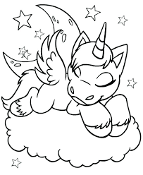 Unicorn Coloring Pages For Adults Free Page Fairy And