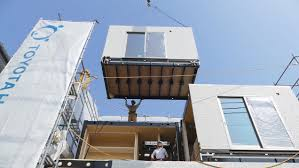 100 Japanese Prefab Homes Manufactured Is Toyota Poised To Disrupt The US Factory