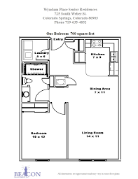 1 Bedroom Apartments Colorado Springs by Affordable Senior Apartments Beacon Management