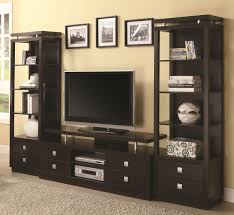 Living Room Ideas Tv Wall Decor Console Stand With Corner Fireplace And Category