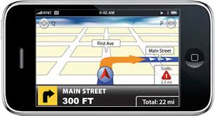 telenav does GPS navigation for iPhone 3G NaviGad