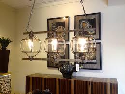 Chandelier Remarkable Decorative No Light Fake For Decoration Rectangel Wooden With 3