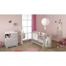 ensemble chambre bébé commode à langer blanche bali domiva berceau magique
