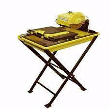 Ryobi 7 Wet Tile Saw Ws730 Manual by Tile Saw Stand Ebay