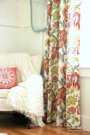 How To Make No Sew Curtains with Grommets Artsy Chicks Rule