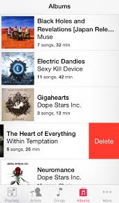 to Delete Albums from iPhone