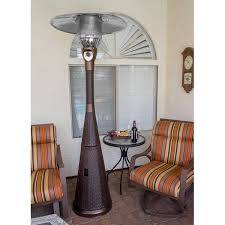 Pyramid Patio Heater Cover by Az Patio Heaters Complete Wicker 41 000 Btu Propane Patio Heater