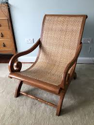 Re Caning Chairs London by Beautiful Colonial Plantation Lazy Chair U2013 Wooden With Rattan