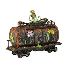 Dept 56 Halloween Village List by Snow Village Halloween Toxic Waste Car Department 56 Corner