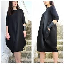 linen dress loose fit linen black linen dress linen
