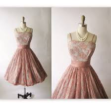 50s Lace Dress Vintage 1950s Cocktail Party Prom Mad Men S