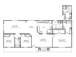 The Mountain View House Plans by The Mountain View I 4g28683b Manufactured Home Floor Plan Or