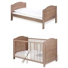chambre bébé modulable lit bébé évolutif jelka 70x140 cm taupe pinolino natiloo com la