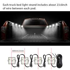 LED Lights For Truck Bed Led Lighting Kit With 48 Super Bright SMD ... Best Truck Bed Lights 2017 Partsam Amazoncom Genuine Ford Fl3z13e754a Led Light Kit Rear Rugged Liner F150 With Cargo Without How To Install Cabin Switch Youtube Fxible Strip Truck Bed Lights F150online Forums 8 White Rock Pods Lighting Xprite 60 2 Strips Rail Awning Truxedo Blight Tonneau System Free Shipping 200914 Ingrated Full F150ledscom Magnetic Under The Lux Systems Led For Of Decor Kit Chevyoffroading