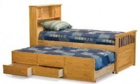full size bed with trundle foter