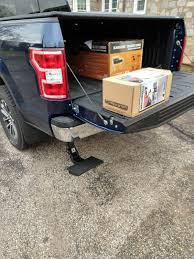 100 Truck Step Up Who Didnt Get A Tailgate Step On Their Truck Page 3 Ford F150