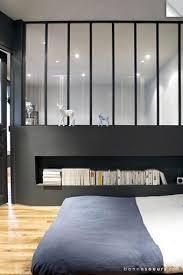 verriere chambre espace nuit mezzanine interior architecture and bedrooms